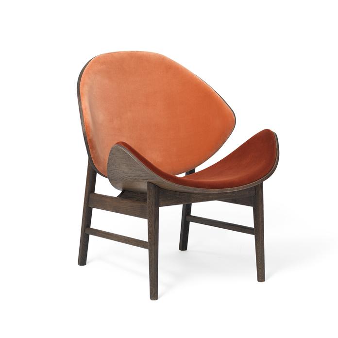 The Orange - Smoked Oak/Back & Seat Upholstery