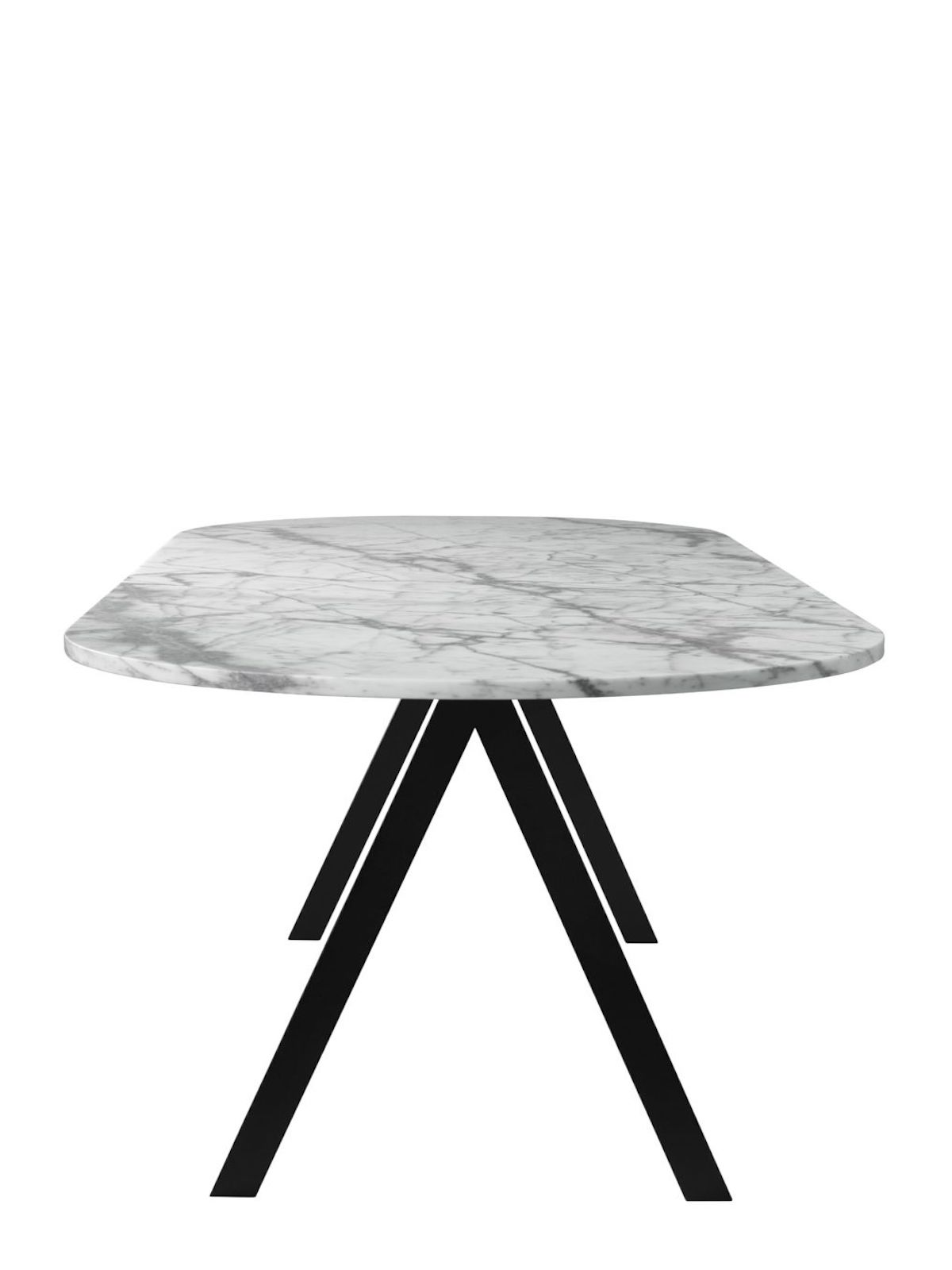 Friends & Founders Saw Rounded White Marble