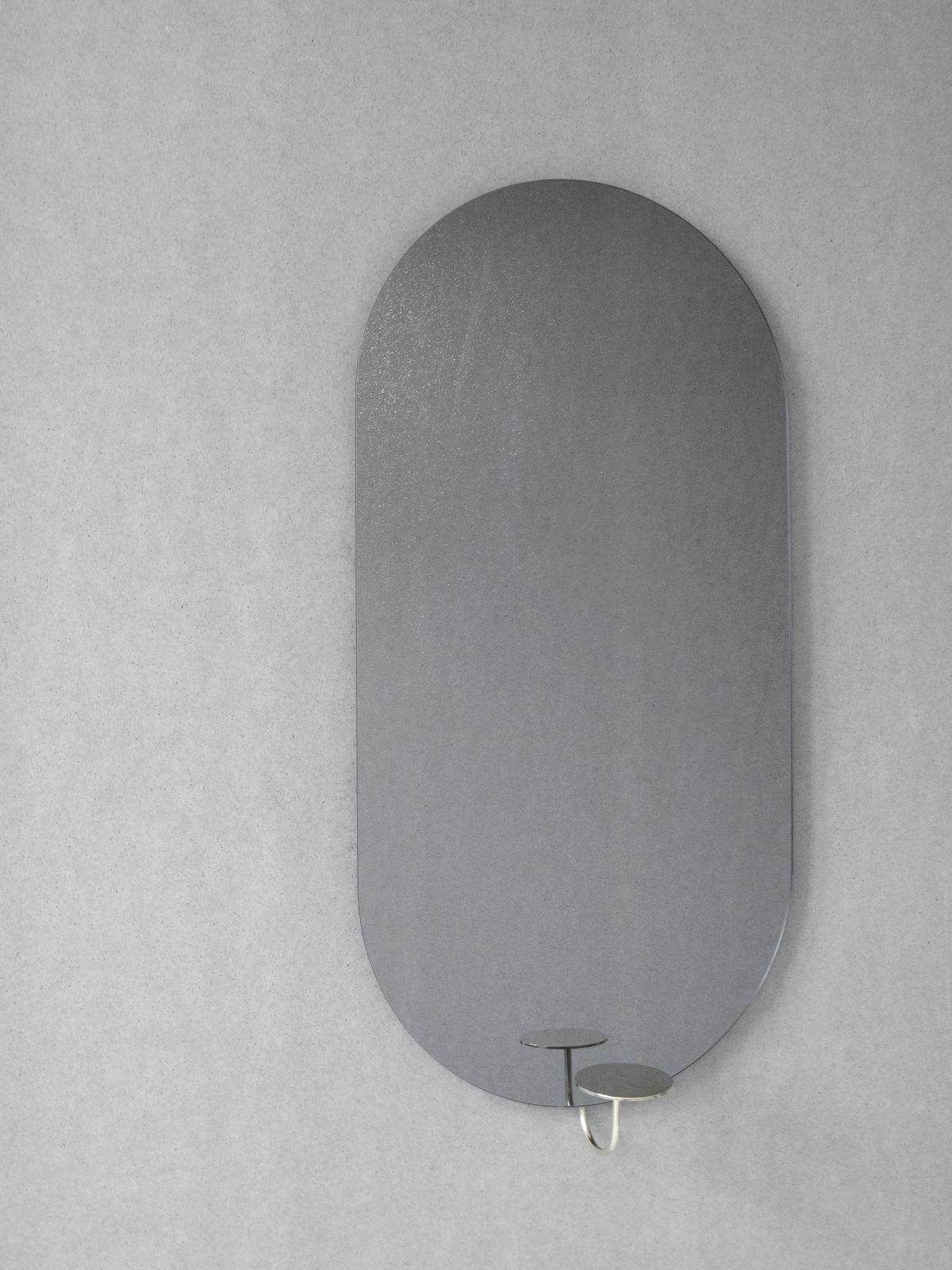 Friends & Founders Miró Miró Mirror - Oval/Grey Mist