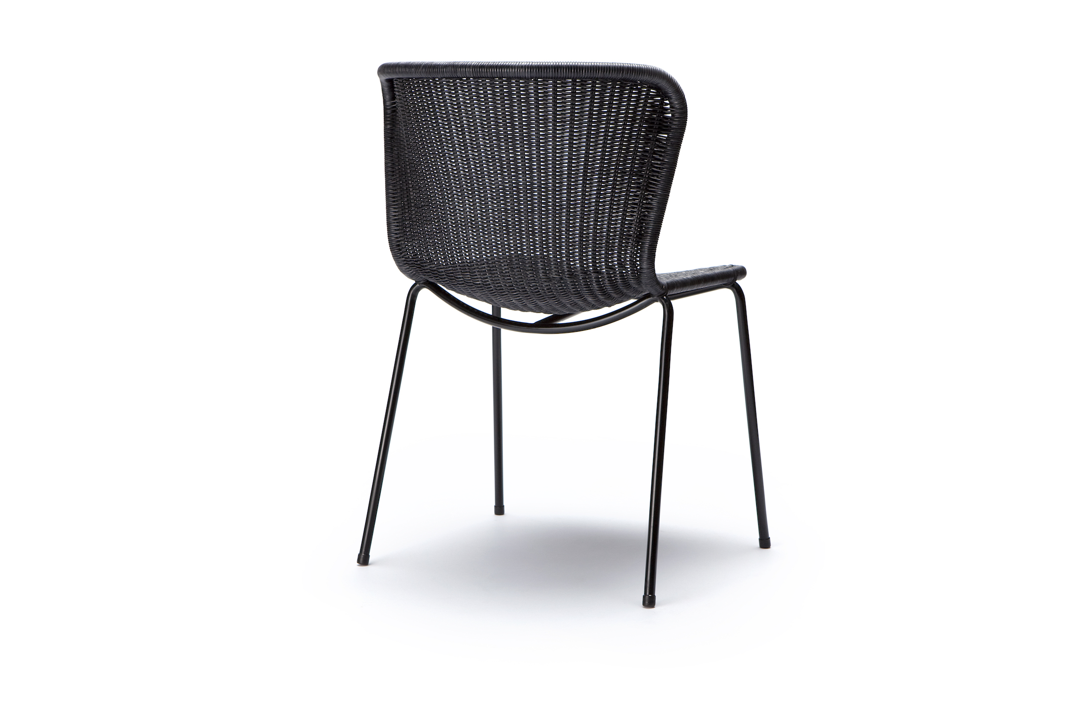 Indoor C603 Chair - Charcoal Rattan