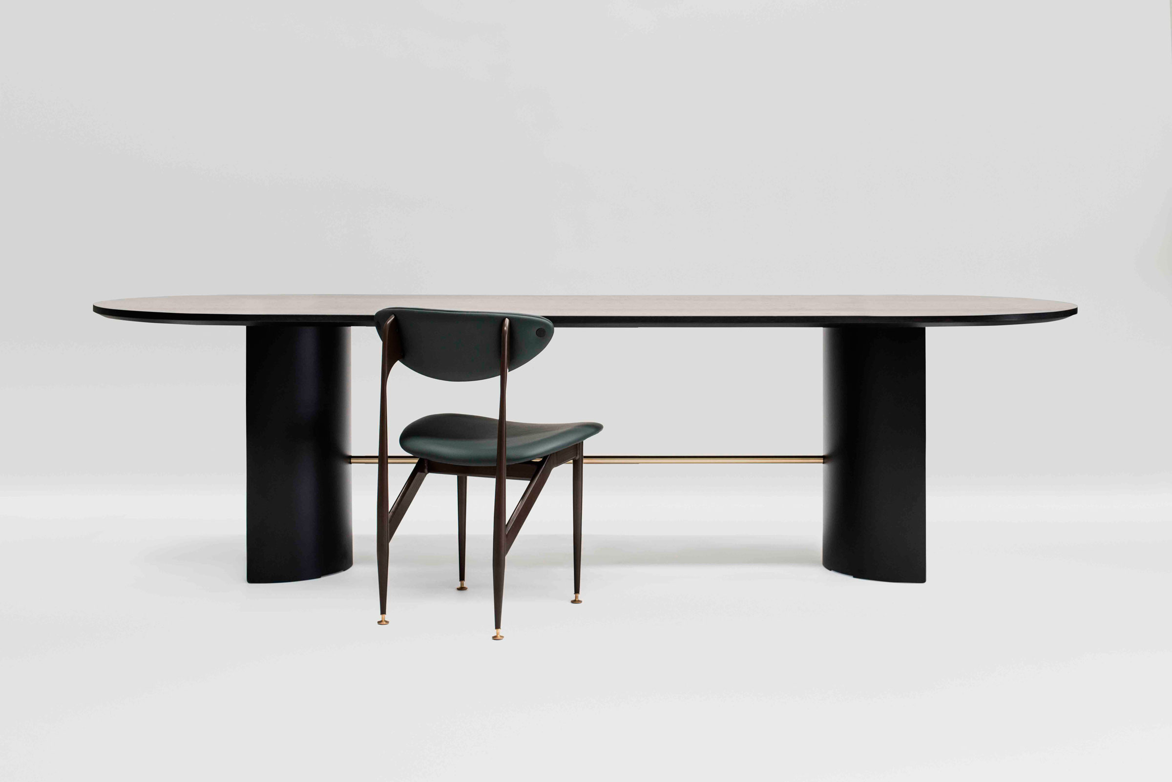 GRAZIA AND CO STAMP TABLE SCAPE CHAIR GESTALT NEW YORK