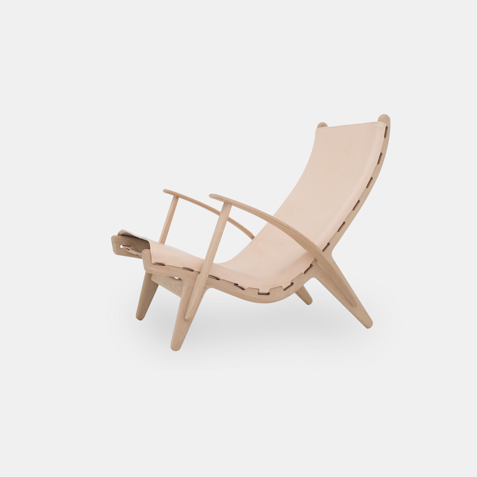 Klassik Studio King's Chair - Oak/Natural