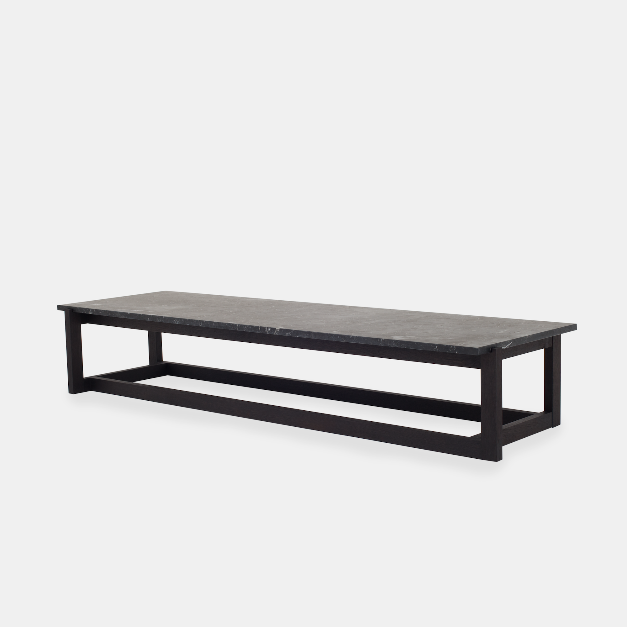 Klassik Studio Coffee Table - Black/Black Marble