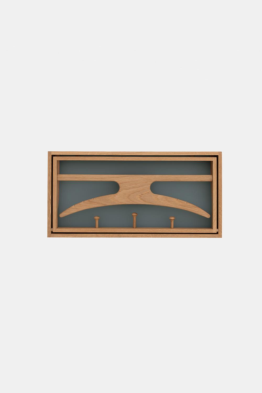 Klassik Studio Hanger - Oiled Oak/Blue