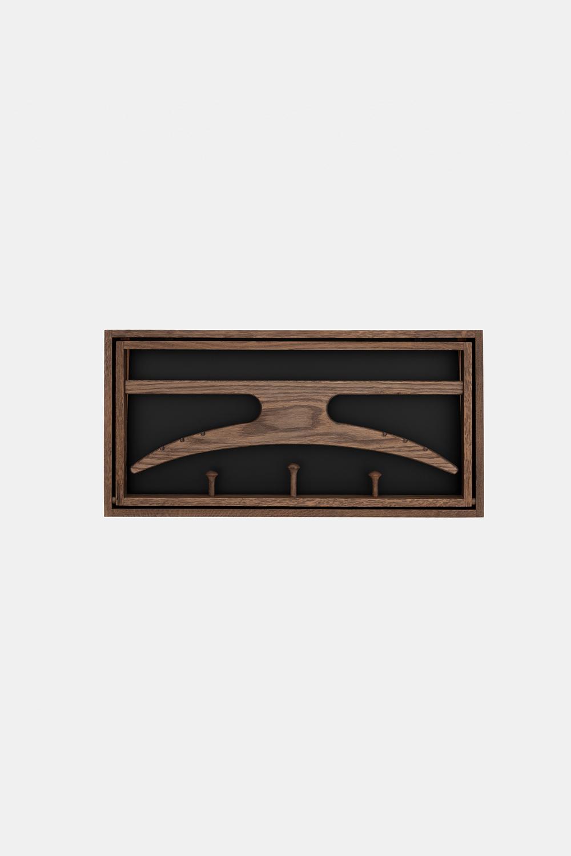 Klassik Studio Hanger - Smoked Oak/Black
