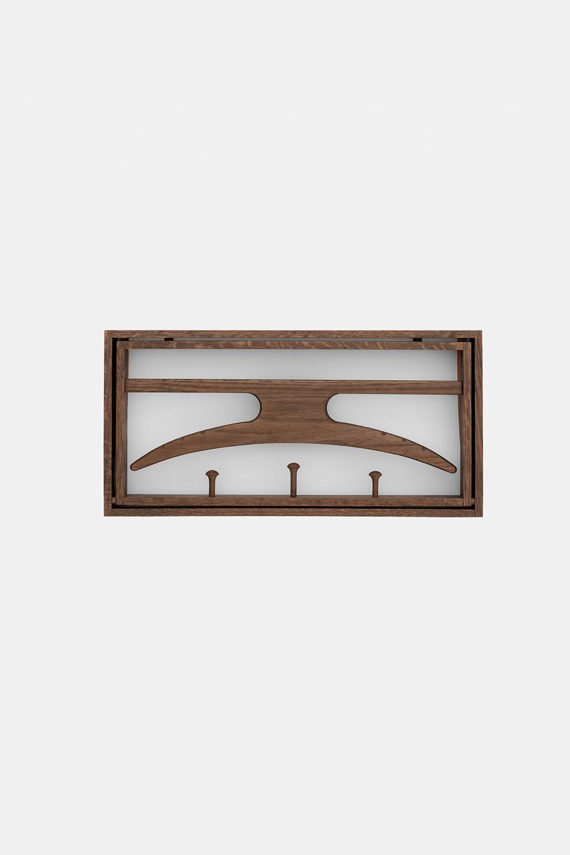 Klassik Studio Hanger - Smoked Oak/White