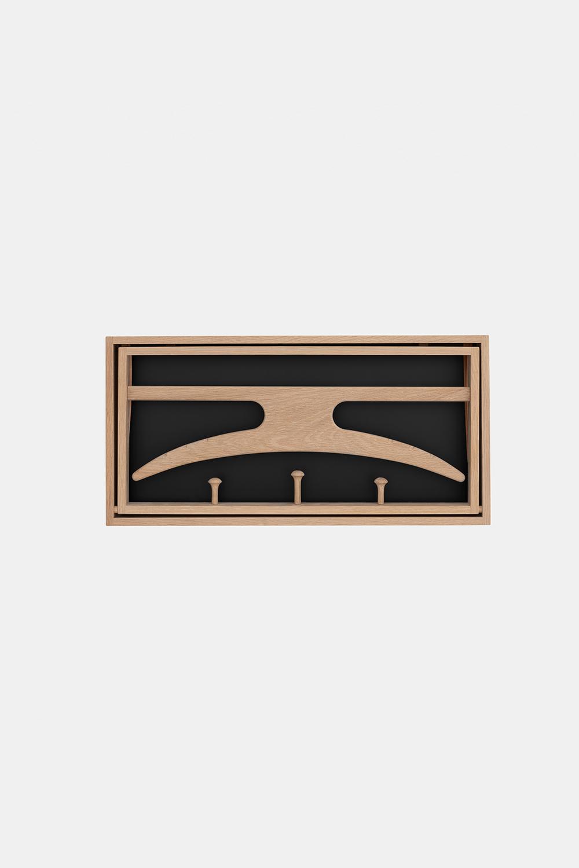 Klassik Studio Hanger - Soaped Oak/Black