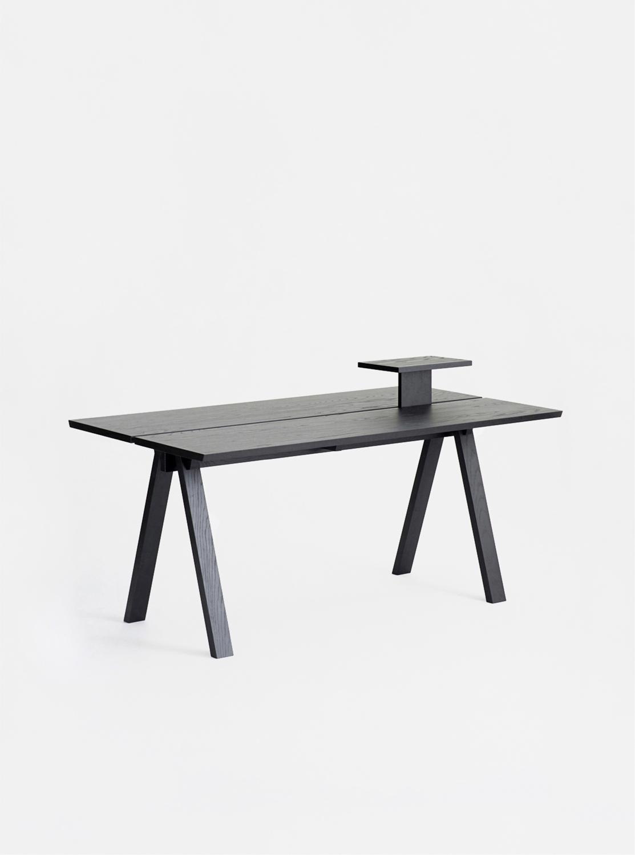 Ariake Sagyo Table - Sumi Ash