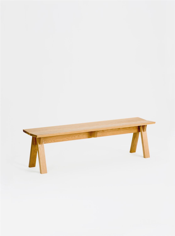 Ariake Sagyo Bench - Oak