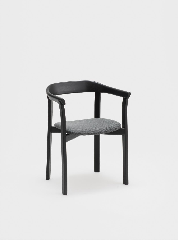 Ariake Holm Chair - Sumi Ash/Fabric Seat
