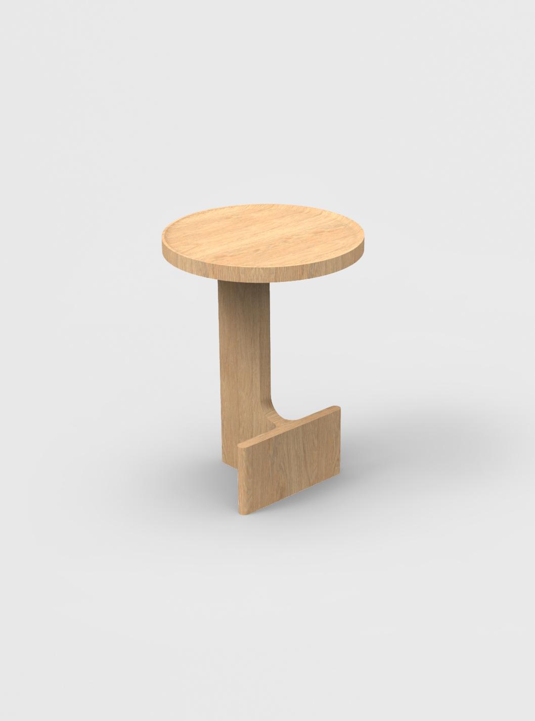 Ariake Beam Side Table - Oak