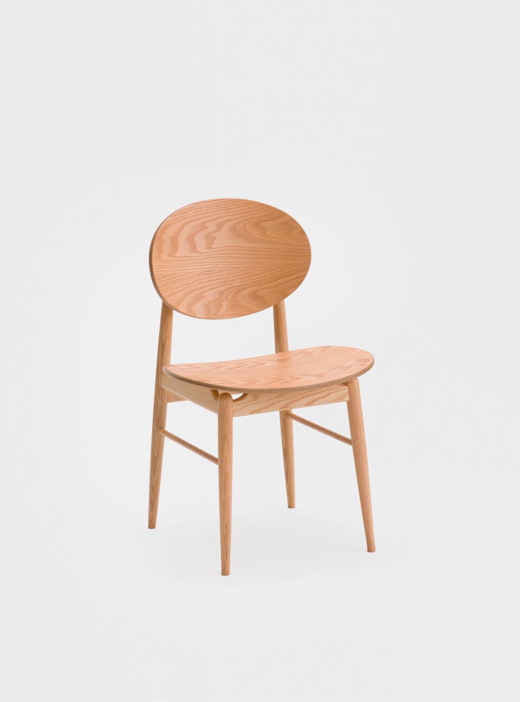 Ariake Outline Chair - Oak Seat & Back