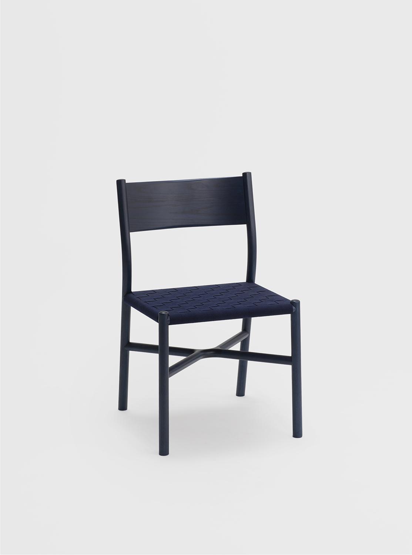 Ariake Chair - Indigo Ash/Textile Strap