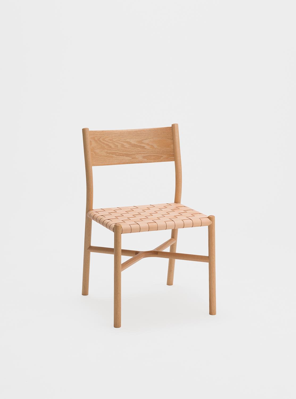 Ariake Chair - Oak/Leather Strap