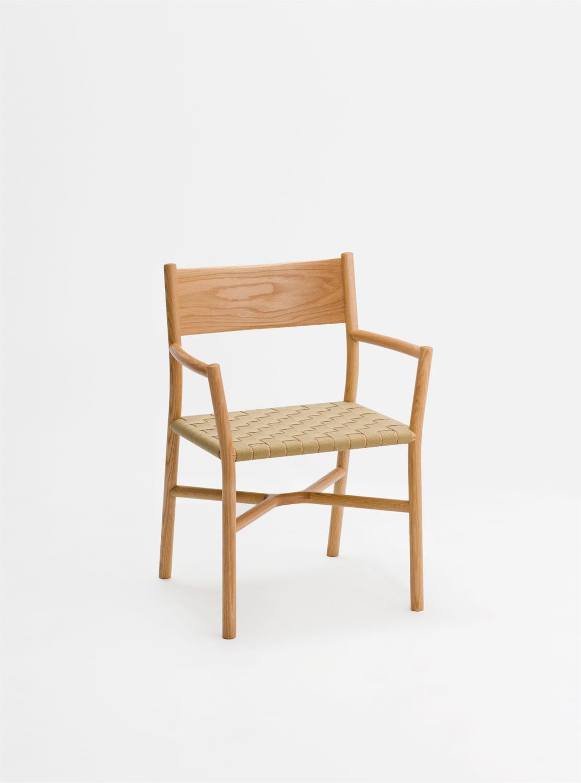 Ariake Armchair - Oak/Textile Strap
