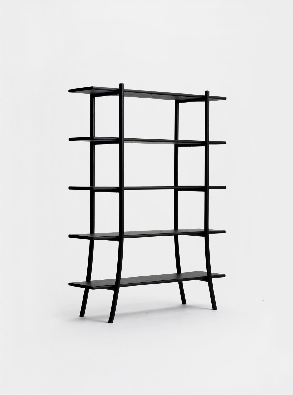 Ariake Skyladder Shelves - Sumi Ash/High
