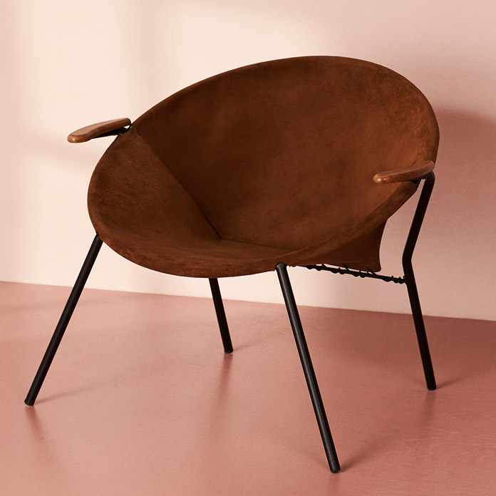 The Balloon Chair by Hans Olsen, Warm Nordic