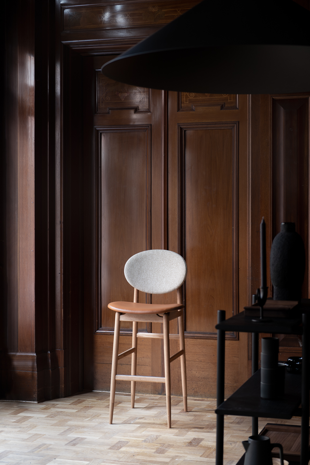 The Outline Barstool by Norm Architects
