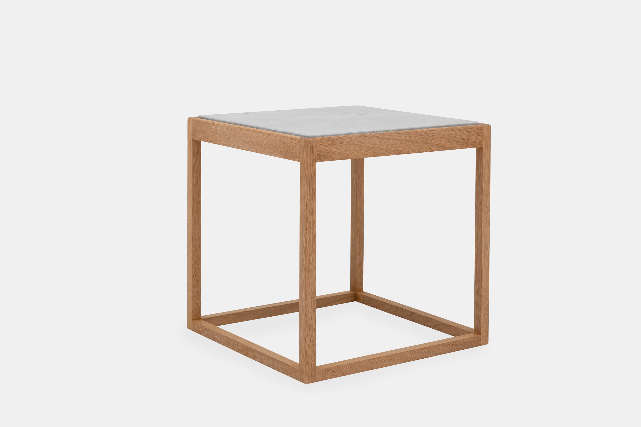 Klassik Studio Cube - Oiled Oak/Light Grey Marble