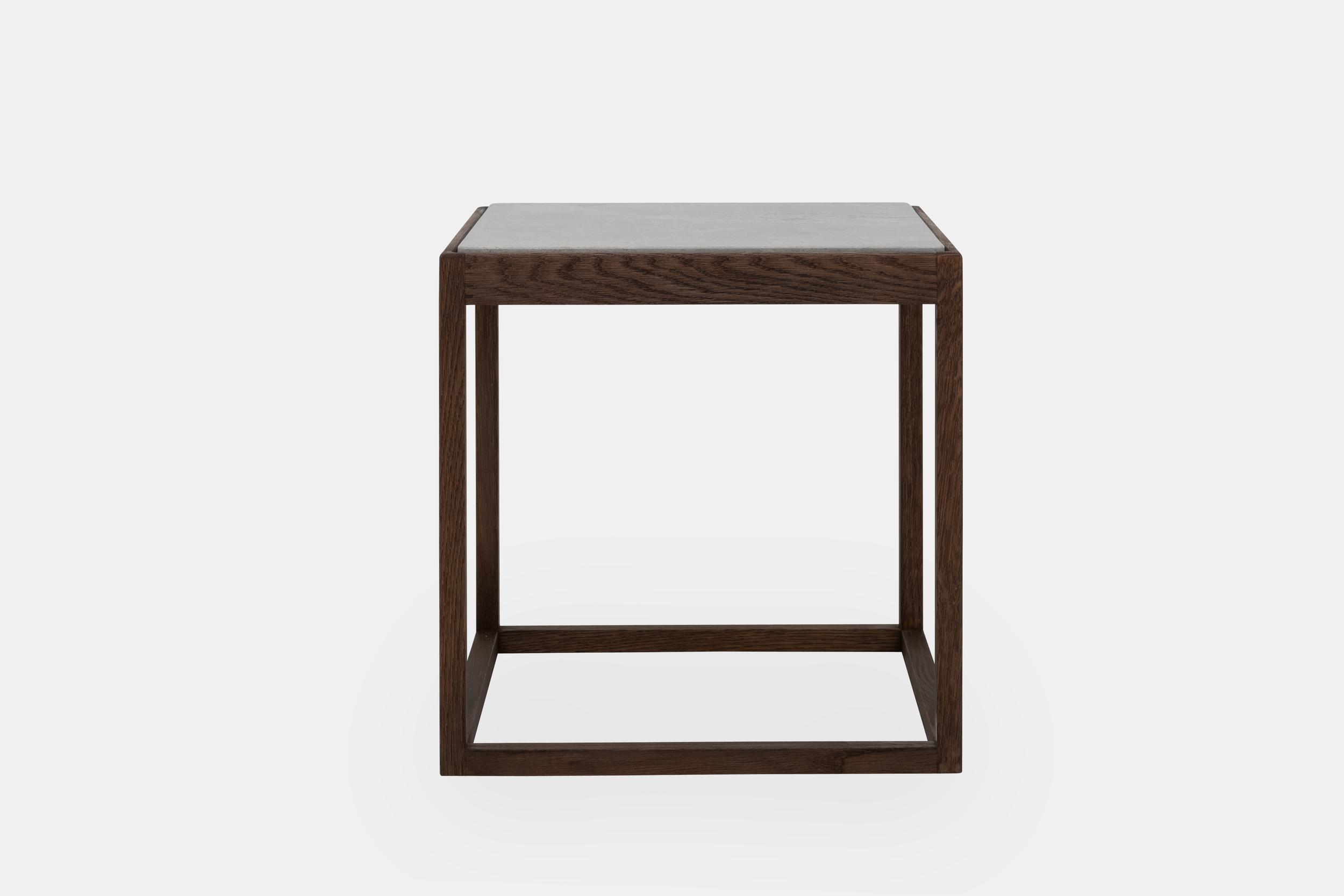 Klassik Studio Cube - Smoked Oak/Light Grey Marble