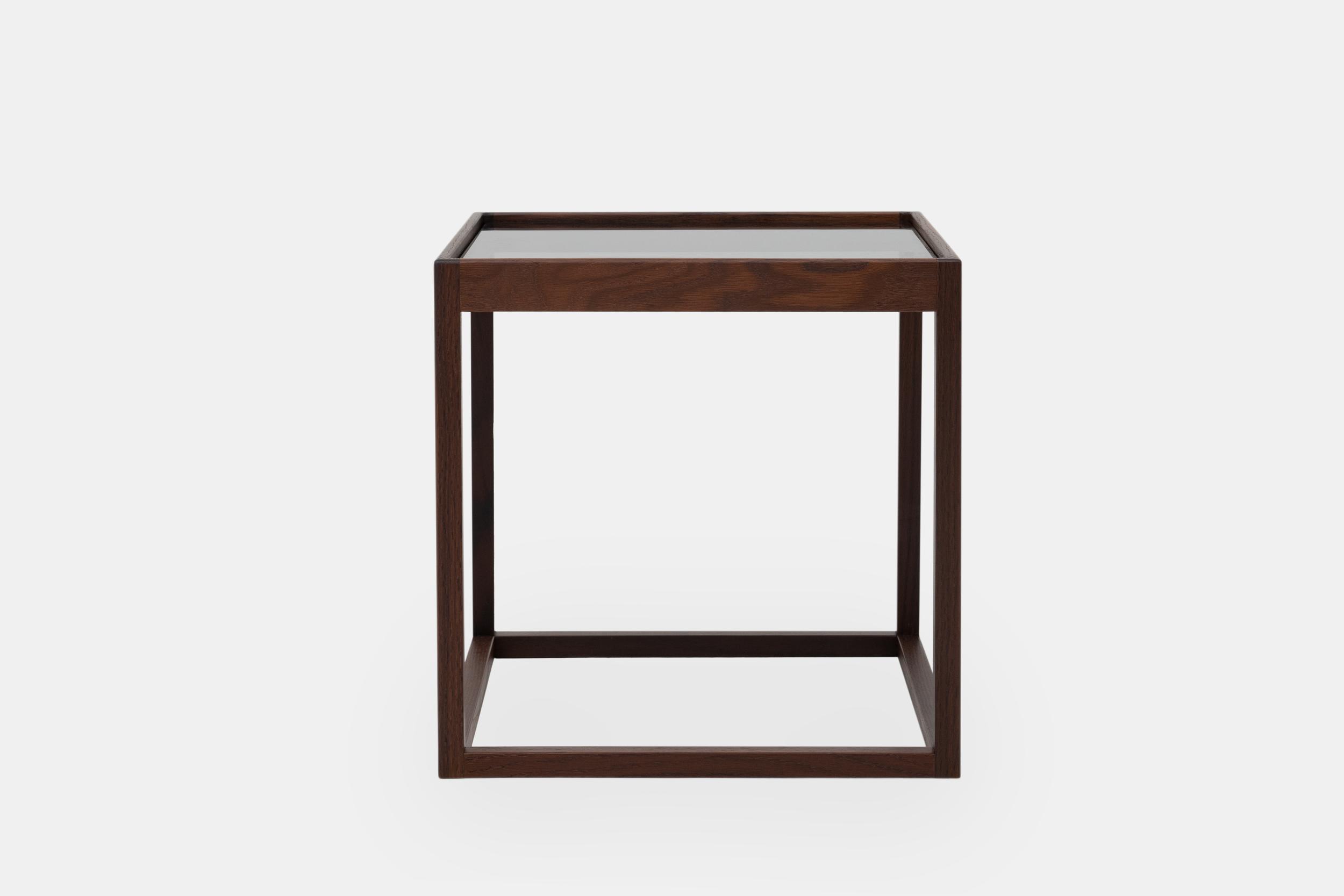 Klassik Studio Cube - Smoked Oak/Glass