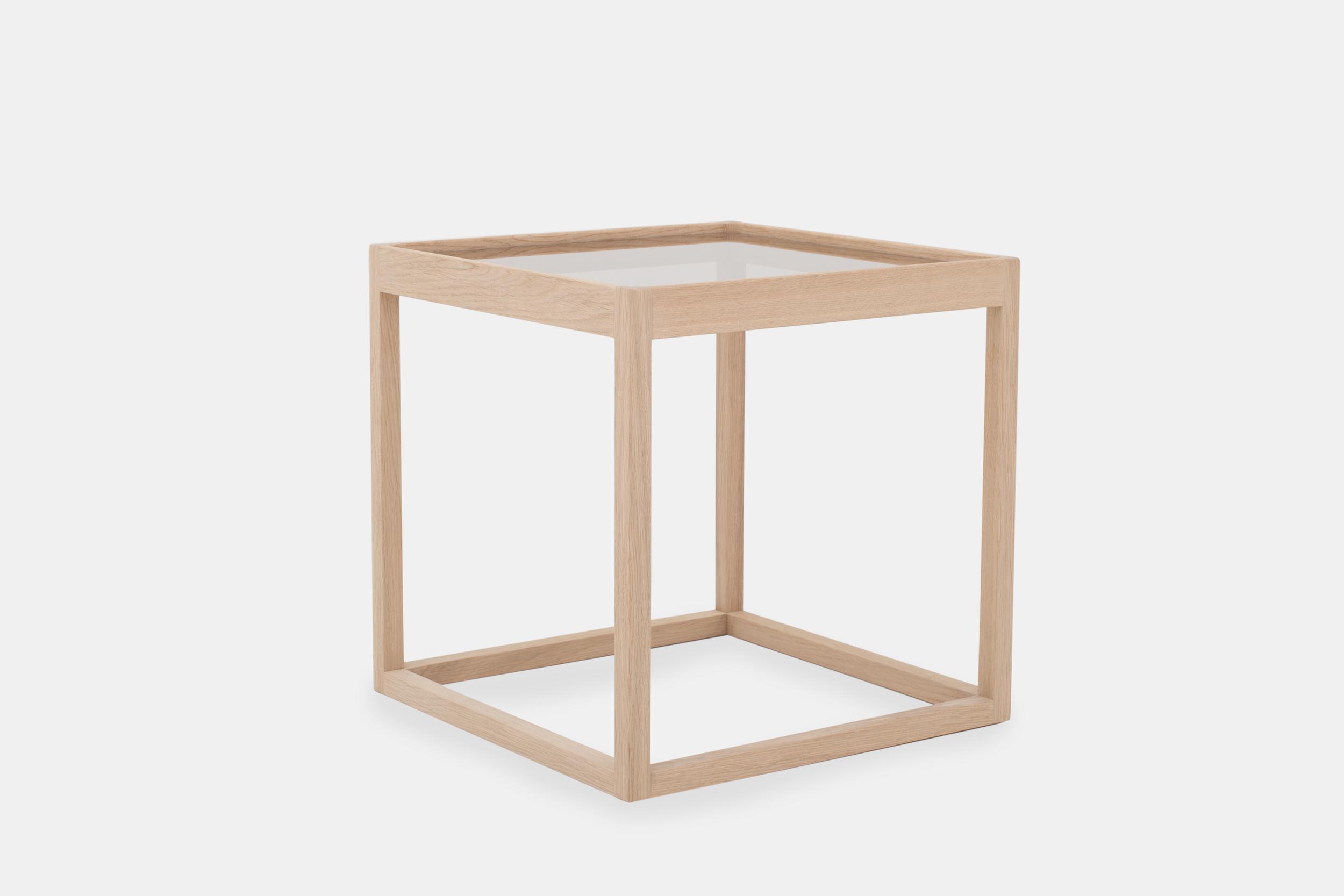 Klassik Studio Cube - Soaped Oak/Glass