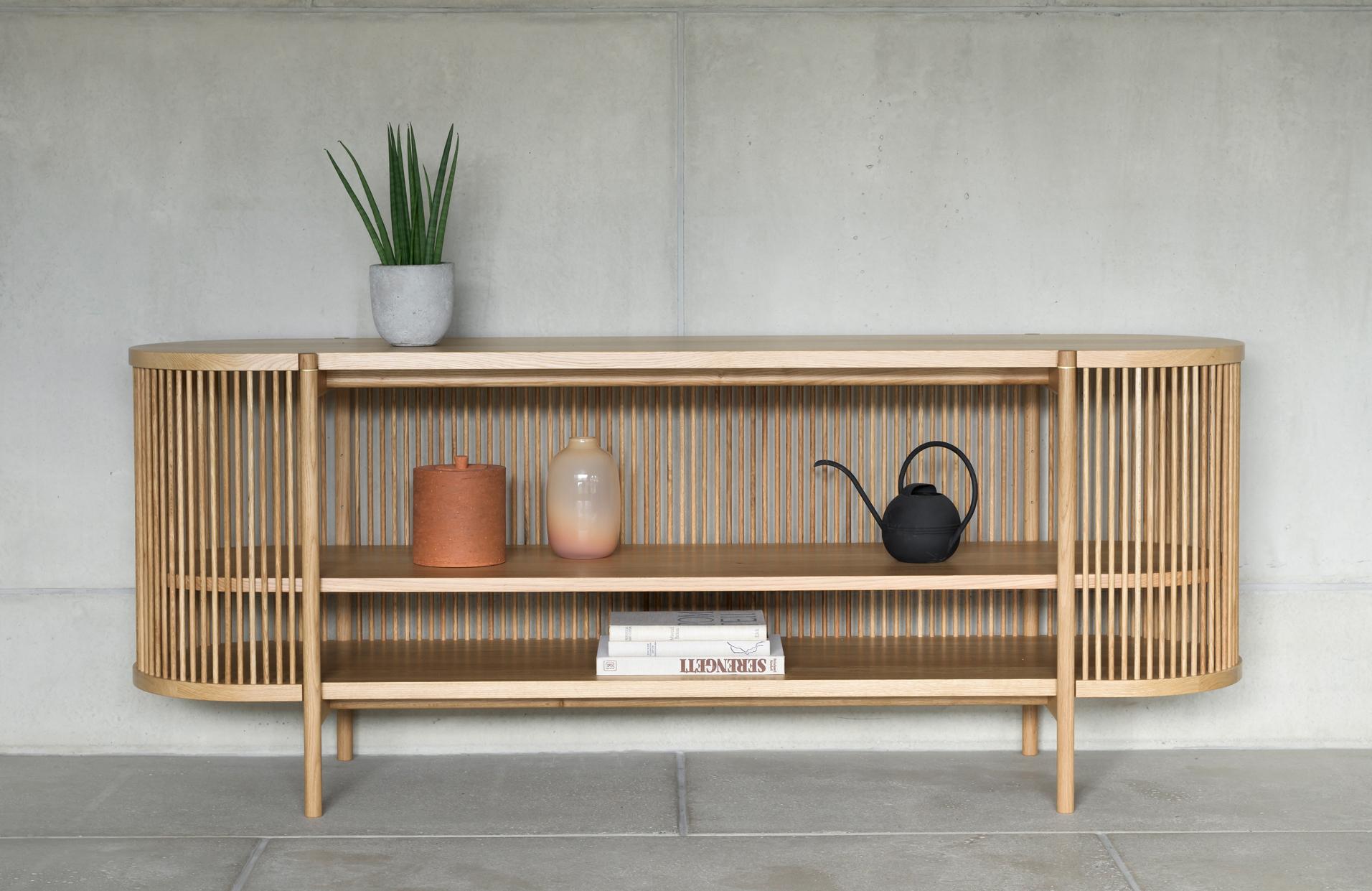 The Bastone sideboard in oak