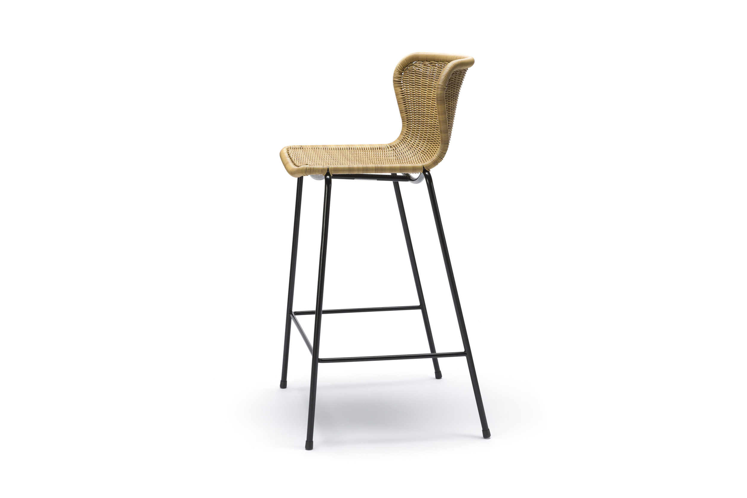 Outdoor C603 Stool - Wheat Polyethylene
