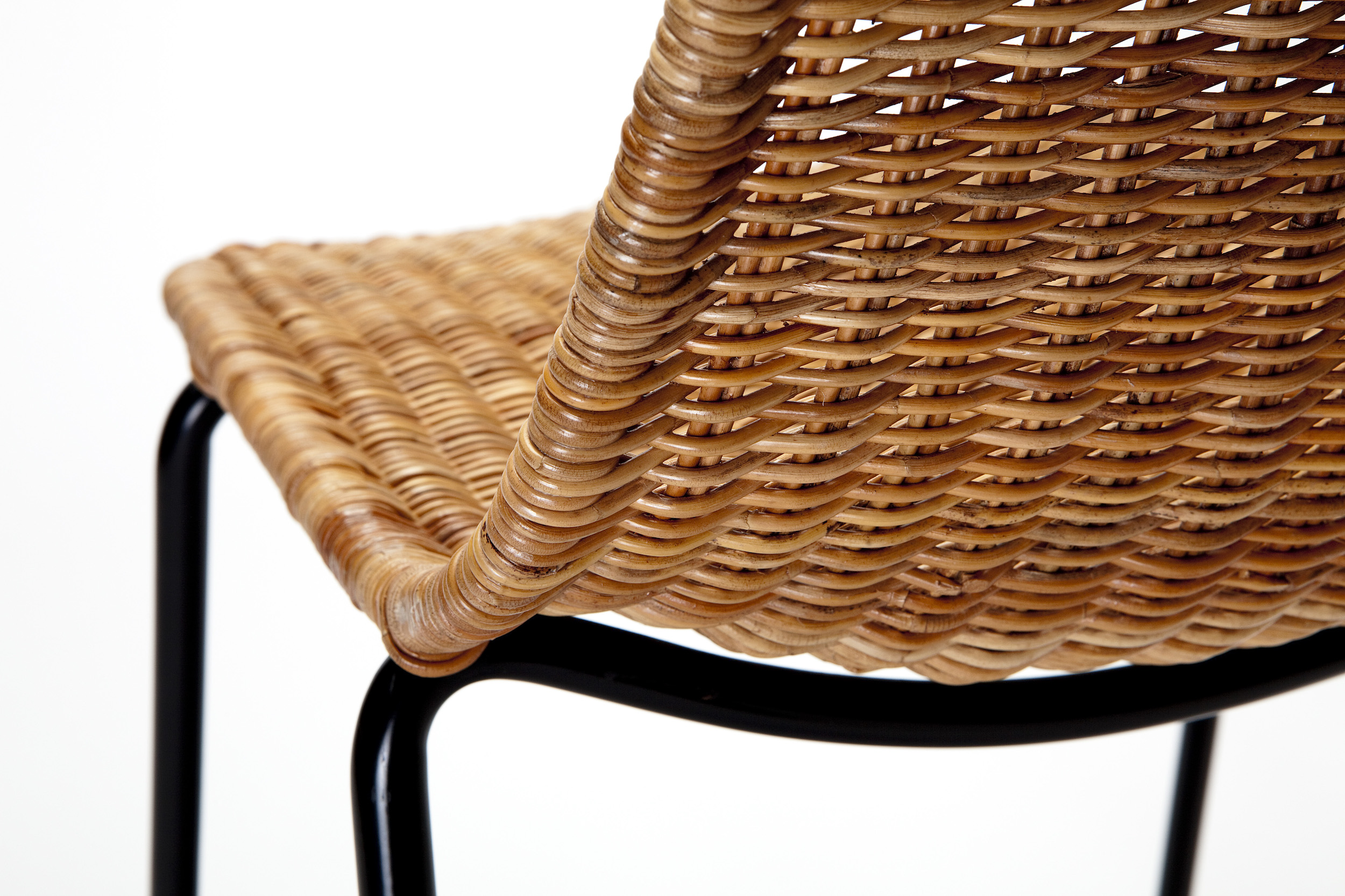 Detail of the handwoven Rattan Pulut Shell