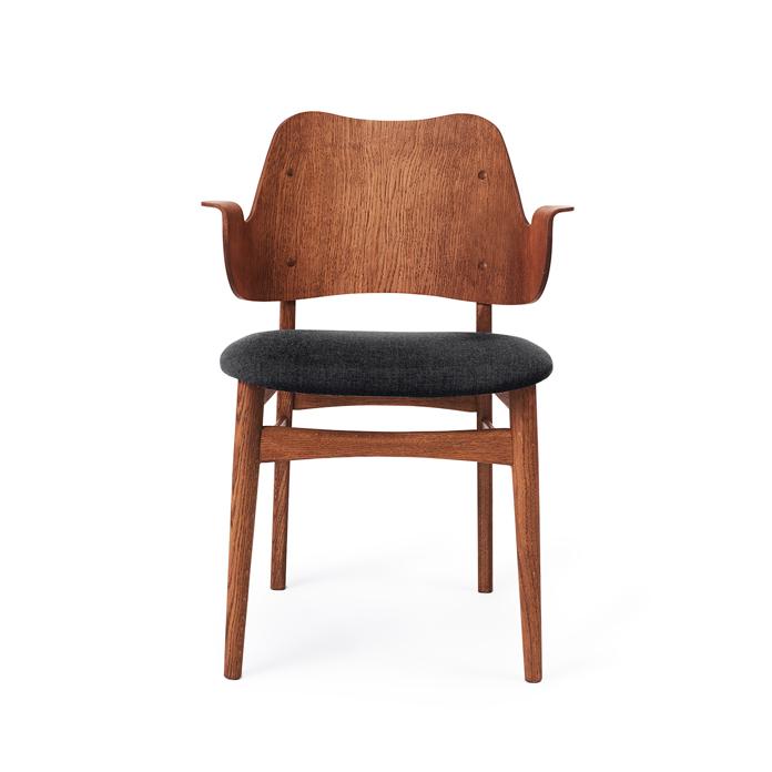 Gesture Chair - Teak Oiled Oak/Seat Upholstery