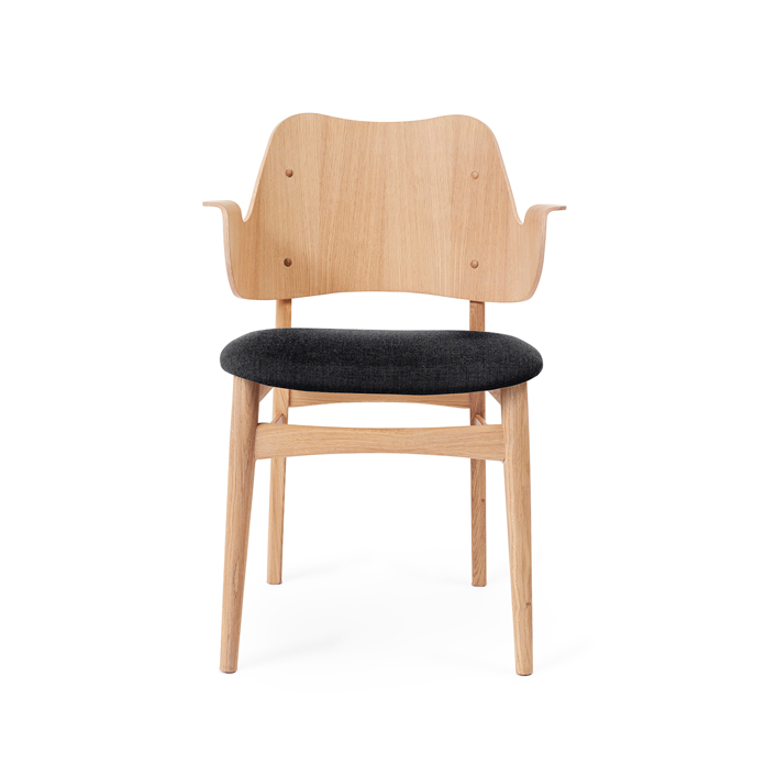 Gesture Chair - White Oiled Oak/Seat Upholstery