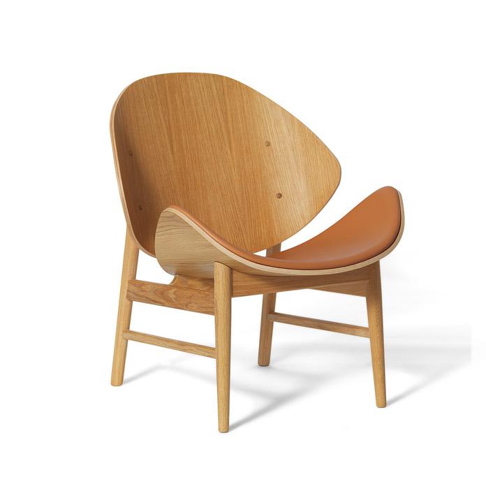 The Orange - White Oiled Oak/Seat Upholstery