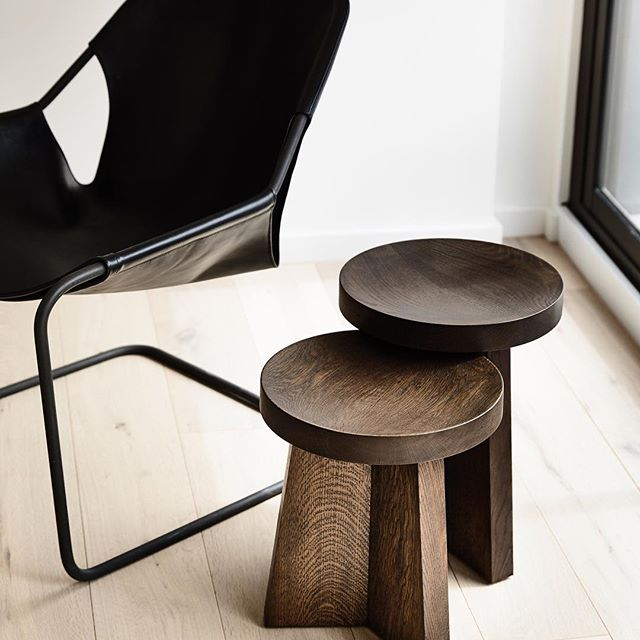 The Dish Stool and Side Table
