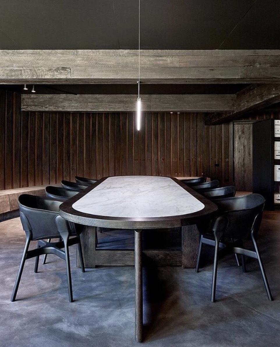 Custom Table for Vasse Felix, design by Hecker Guthrie
