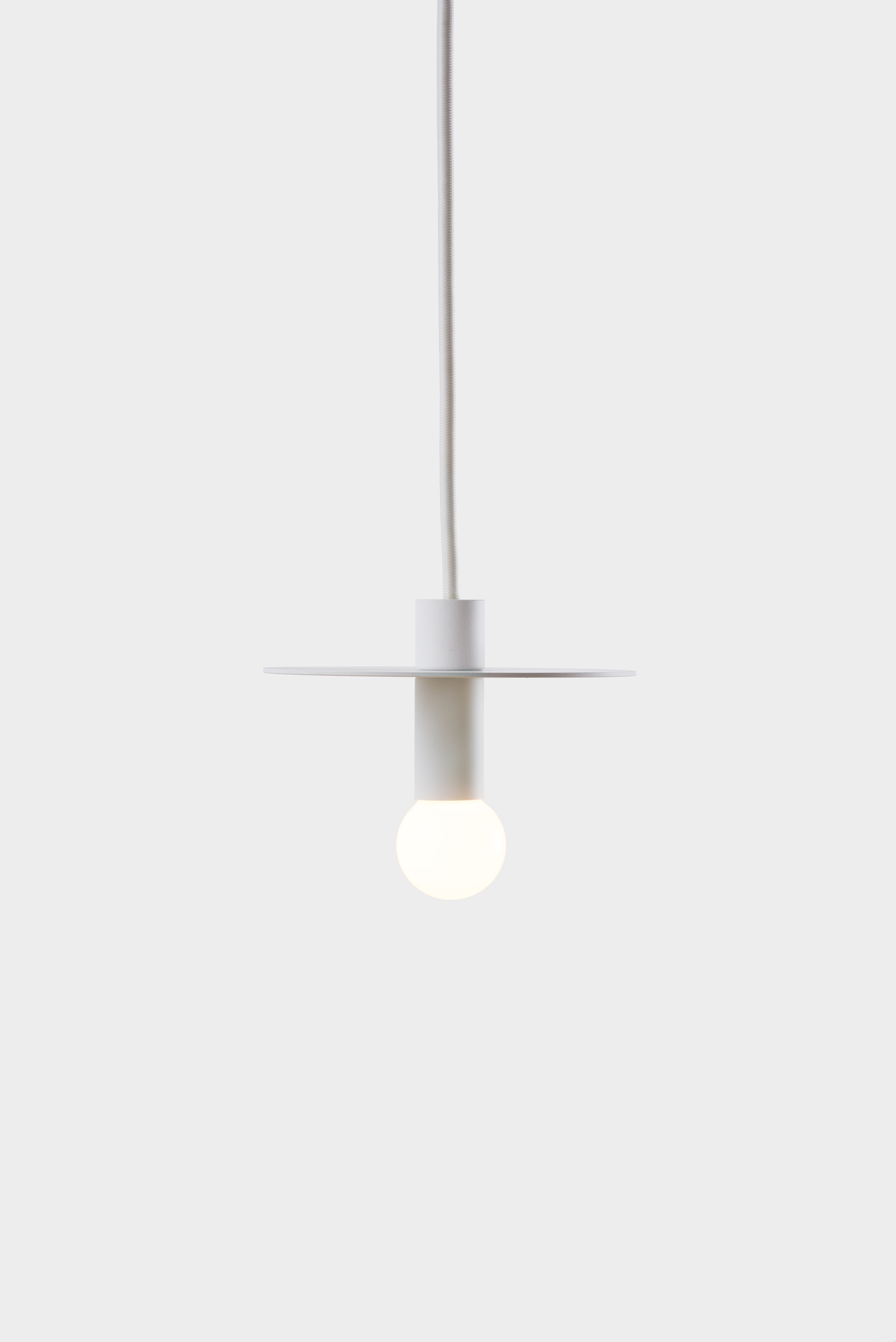 Dot Suspension - White
