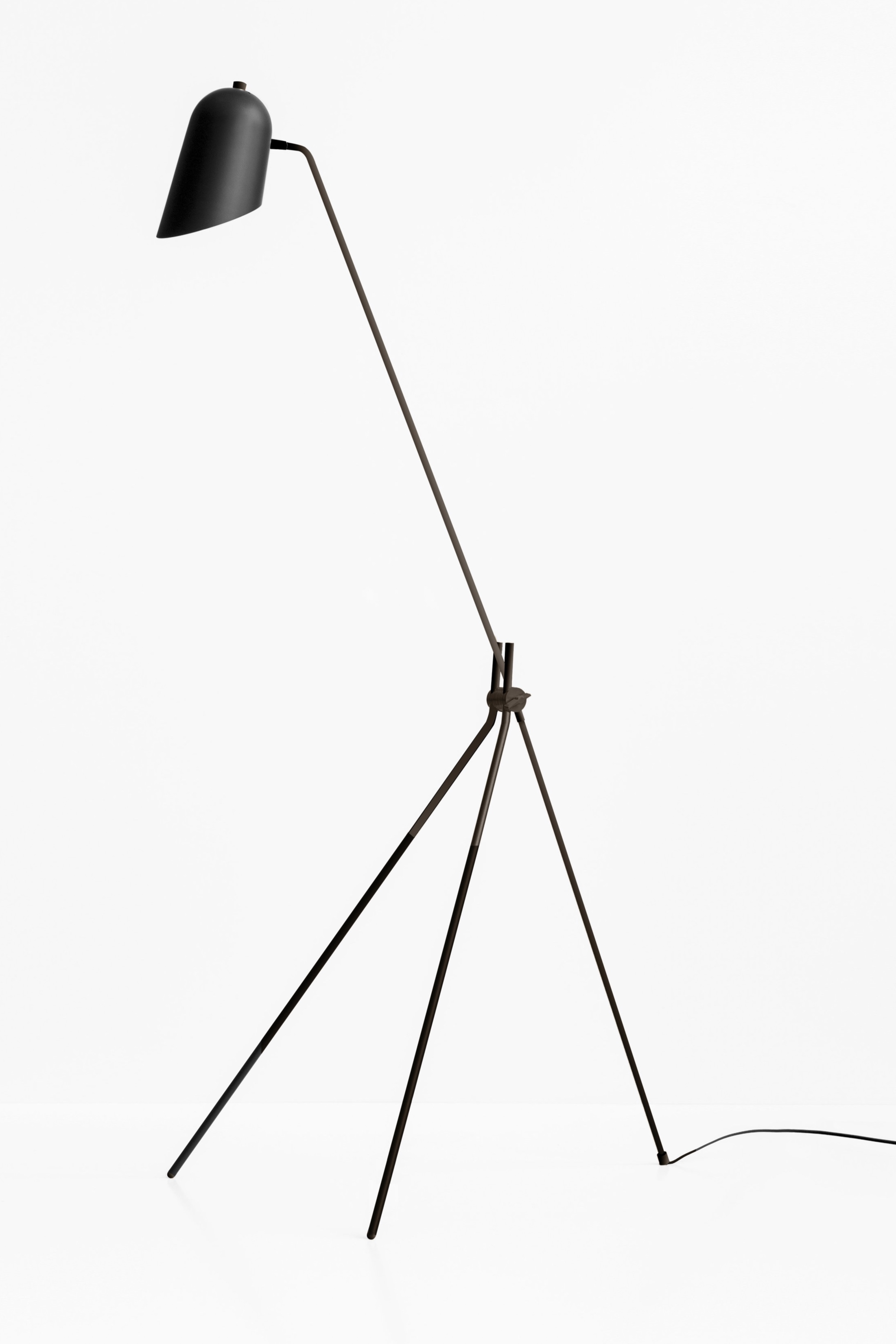 Cliff Floor Lamp - Black/Graphite