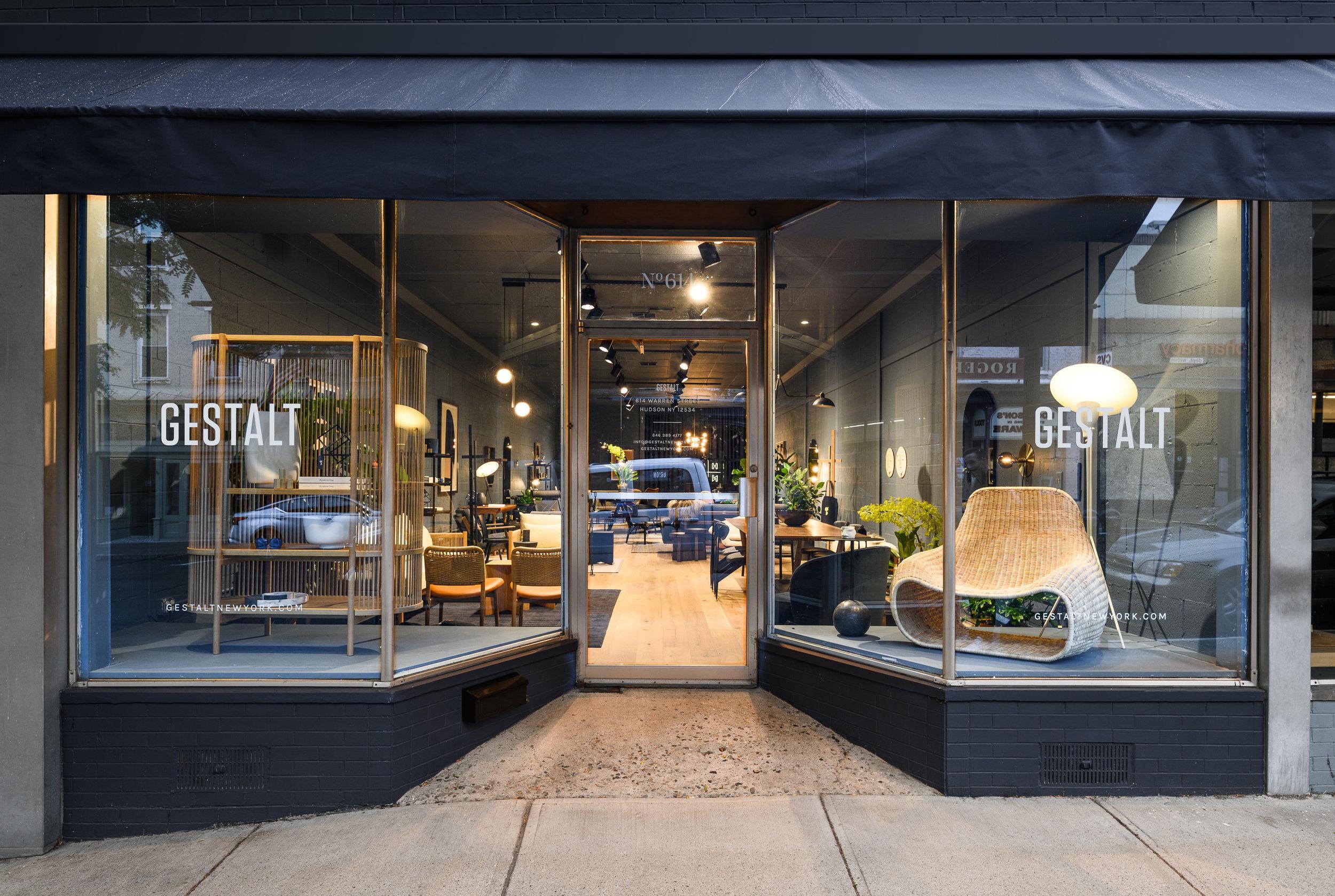 Gestalt New York Hudson showroom on Warren Street.  All photography by Stephen K Mack @gnomistphoto