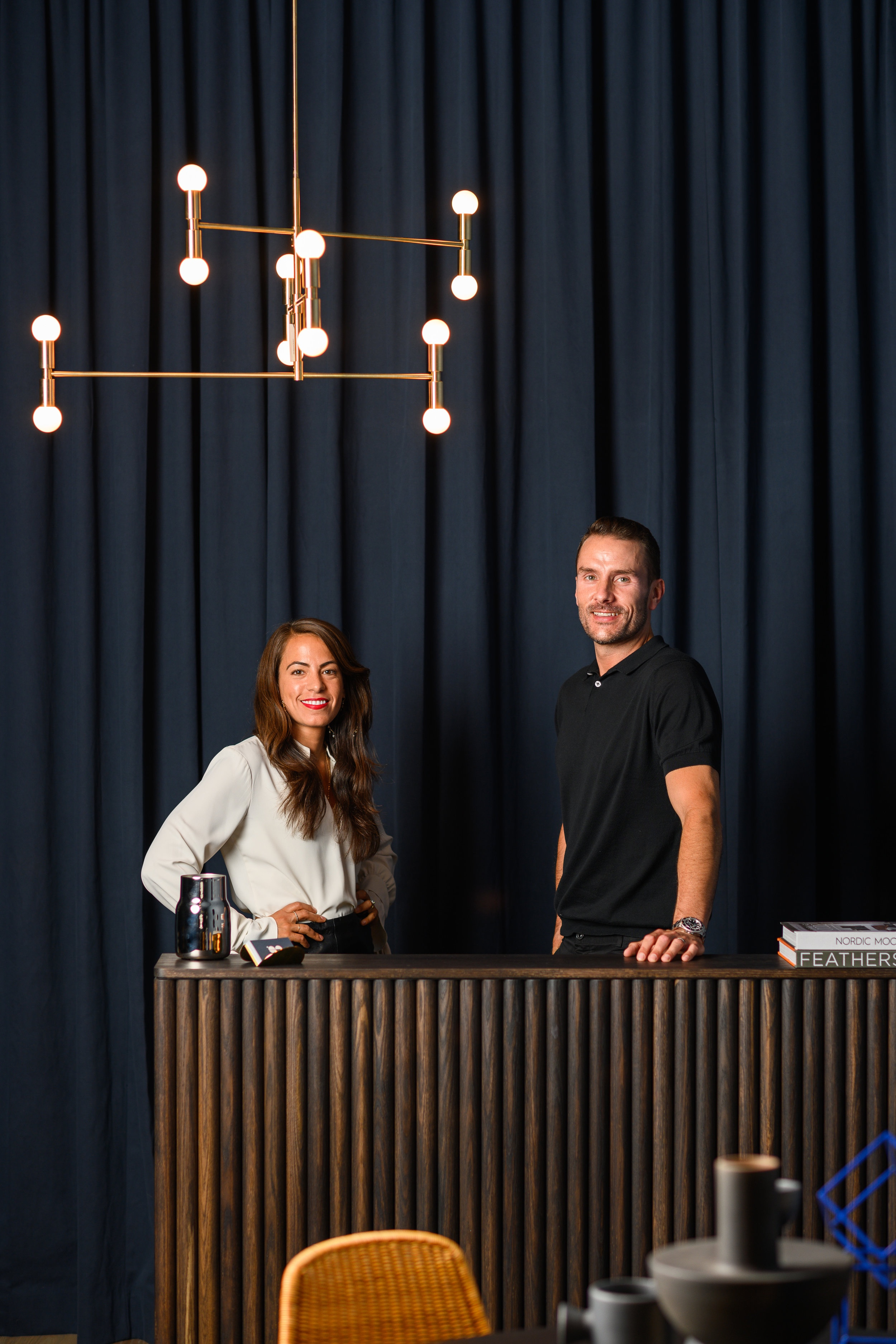 Founders Karolina Dabo and Adrian Pollack