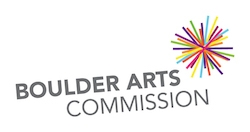 This organization is funded in part by a grant from the Boulder Arts  Commission, an agency of the Boulder City Council