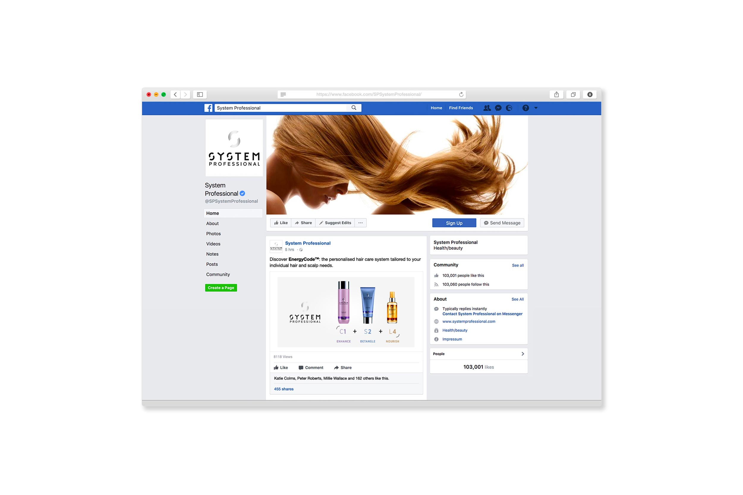 system professional #resolution campaign launch on facebook