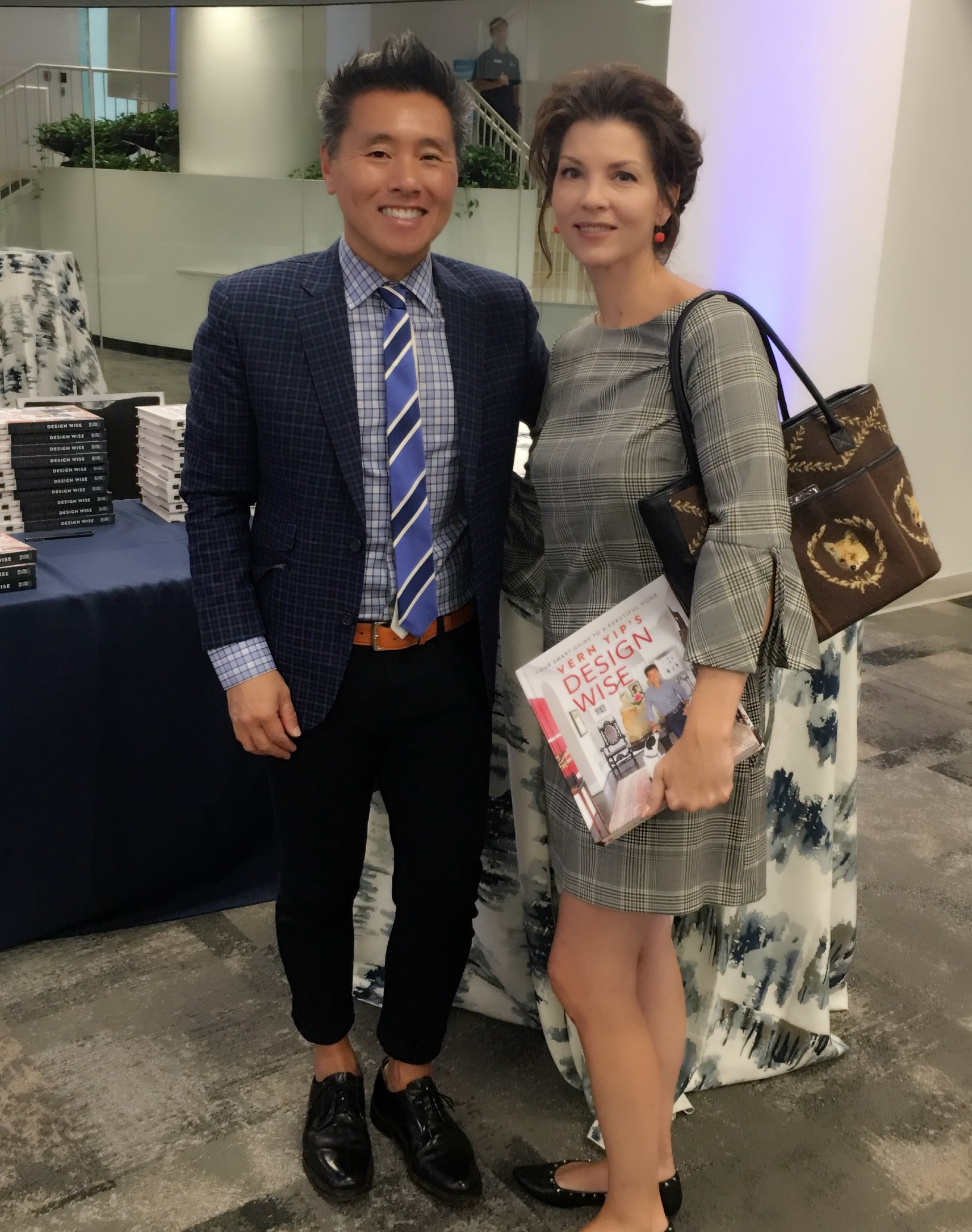 Ginger Hartford congratulates Vern Yip - the epitome of a gentleman as a kind, humble and humorous Designer!