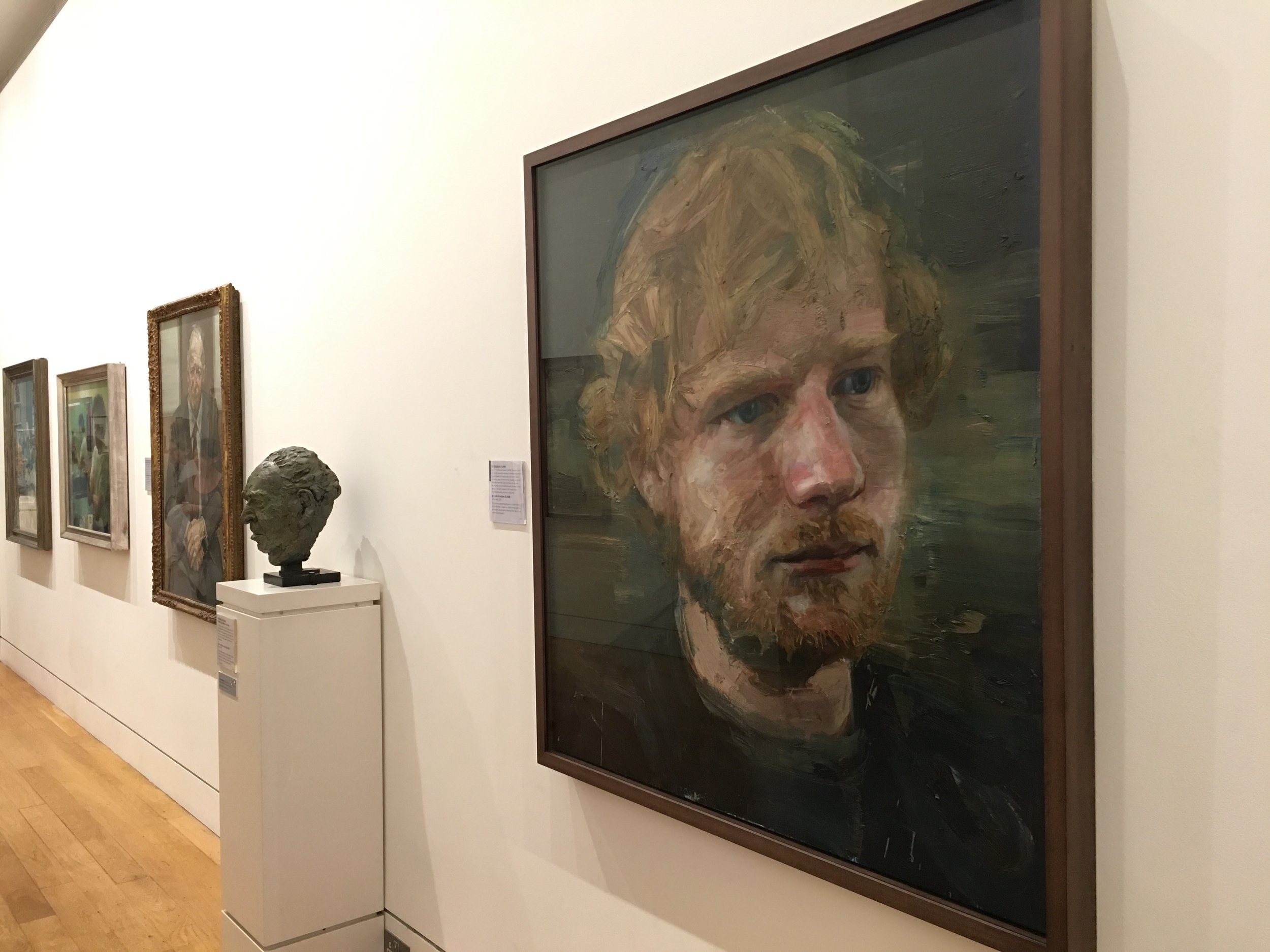 EurDesign Studio National Portrait Gallery London Ed Sheeran