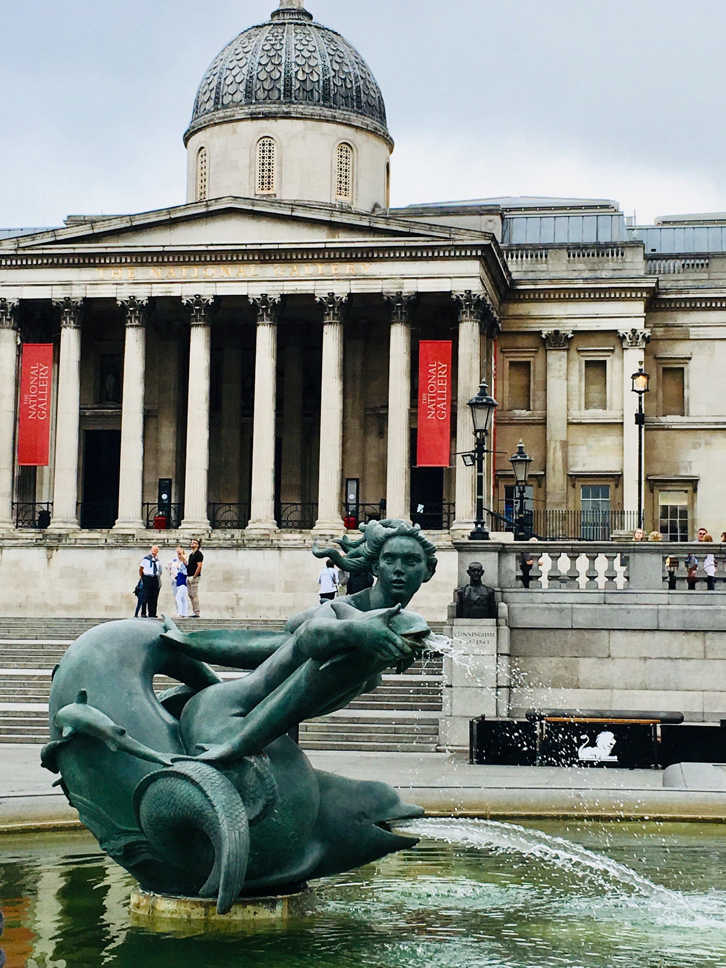 EurDesign Studio in London National Portrait Gallery