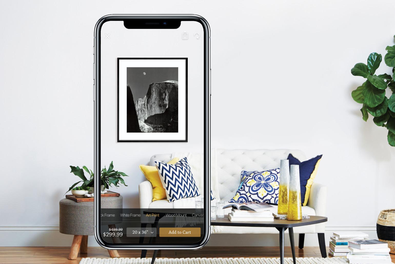 Walmart Acquires Art.com ArtView Augmented reality