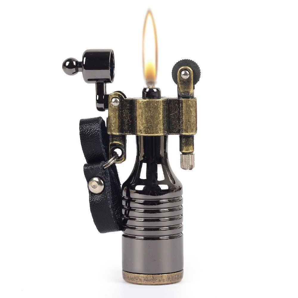 Steam Punk Style - There are some really fun lighters available as well. Light up the fire in style with one of these.