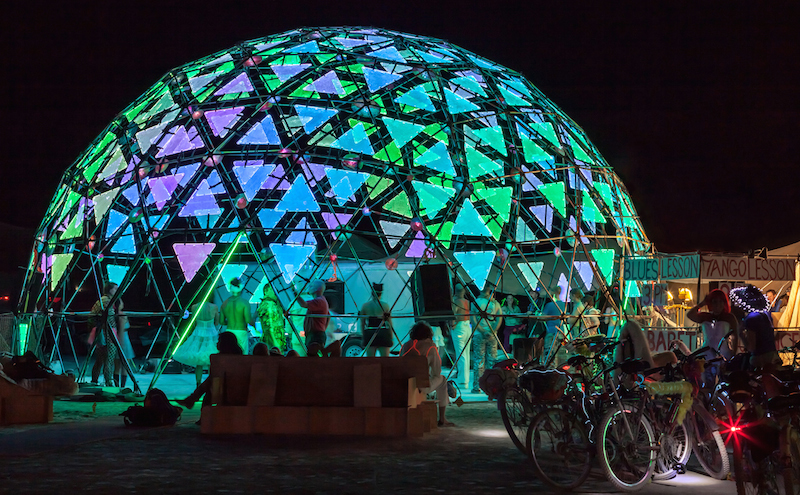 Light Projection Domes