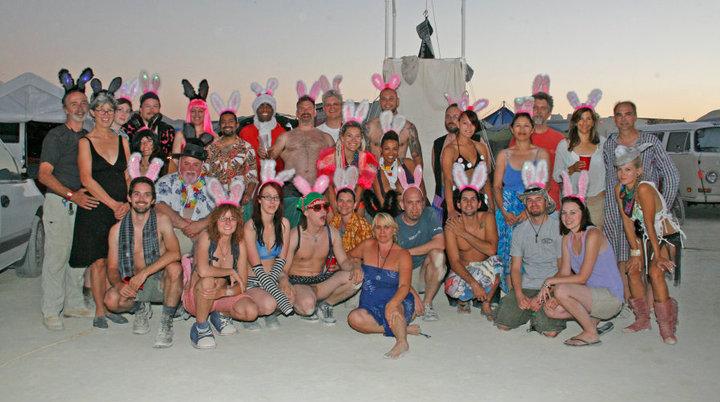 The Karma Chickens  at Burning Man 2010