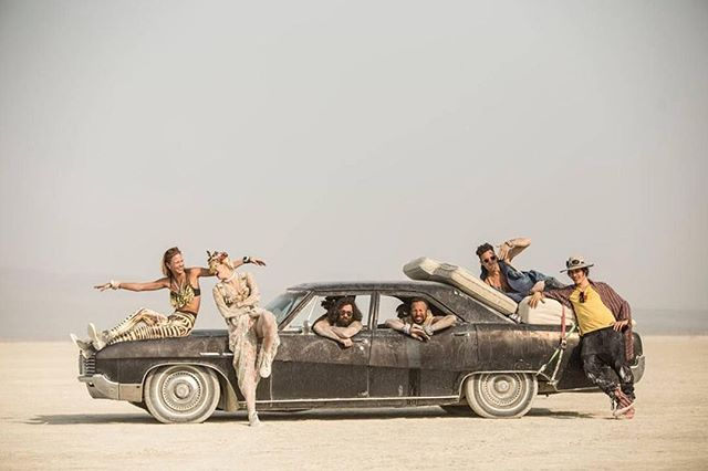Probably the most normal looking car at #burningman ➡️ Repost @burning_man_pics 📸 @matan_tzinamon Follow 👉 @burningmanguides  #brc #blackrockcity #burners #burner #industwetrust #burningmanphotos #playa #burningmantips #love #burnerbabes