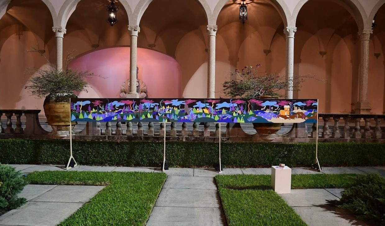Installed at The Ringling Museum