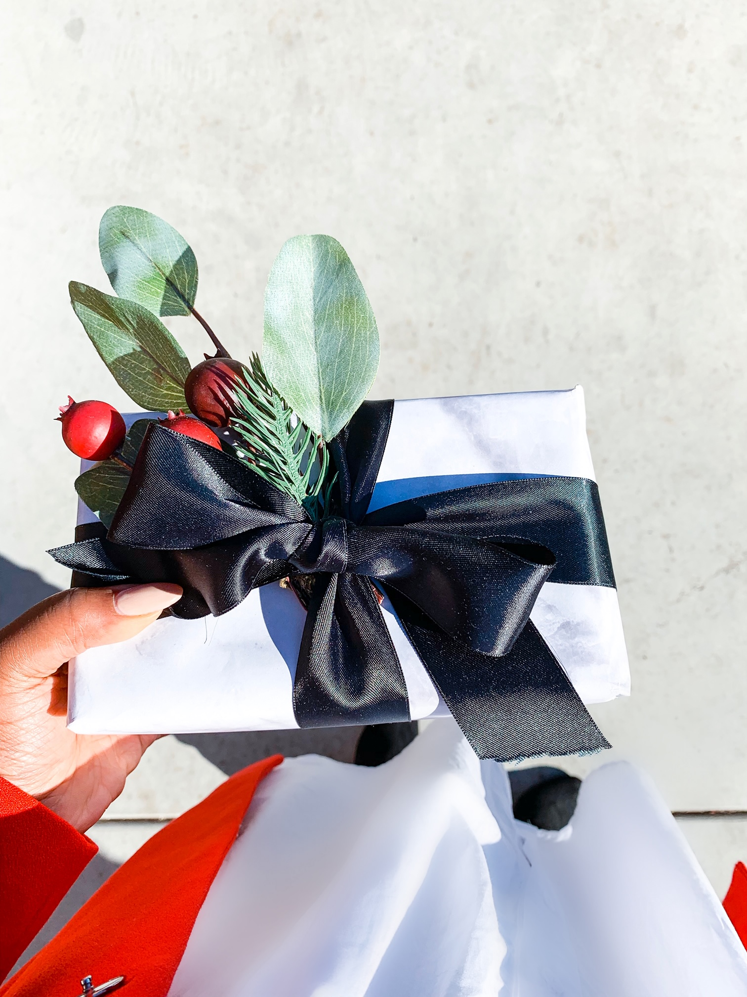 the perfectly wrapped gift